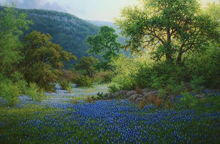 Oil Paint Landscape Artist